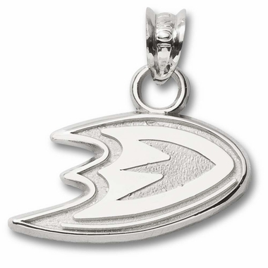 Anaheim Mighty Ducks Sterling Silver Pendant