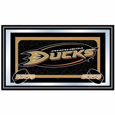 Anaheim Ducks Team Logo Bar Mirror