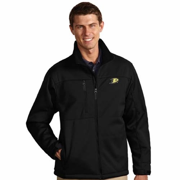 Anaheim Ducks Mens Traverse Jacket (Team Color: Black)