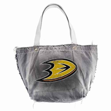 Anaheim Ducks Vintage Tote (Black)