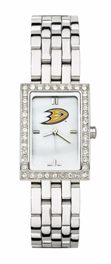 Anaheim Ducks Women's Steel Band Allure Watch