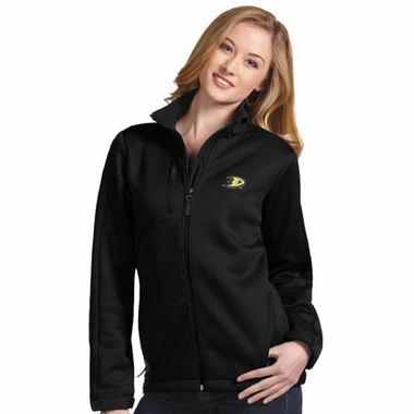 Anaheim Ducks Womens Traverse Jacket (Color: Black)