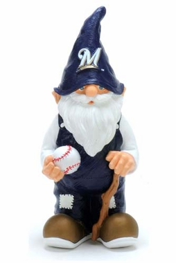 Milwaukee Brewers 11 Inch Garden Gnome