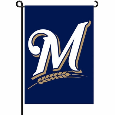 Milwaukee Brewers 11x15 Garden Flag