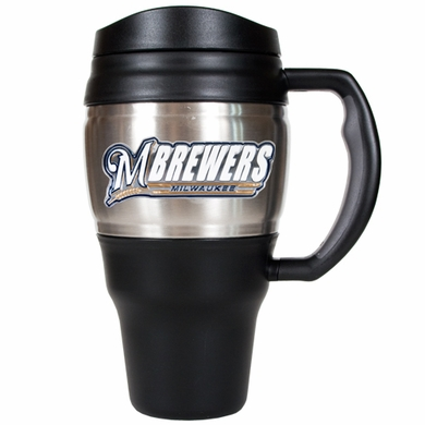 Milwaukee Brewers 20oz Oversized Travel Mug