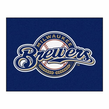 Milwaukee Brewers 34 x 45 Rug