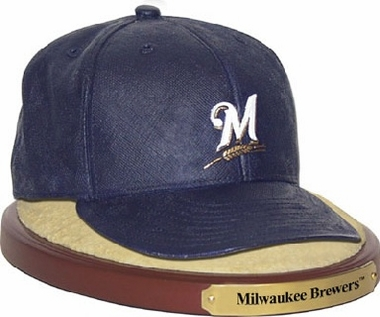 Milwaukee Brewers Ball Cap Figurine