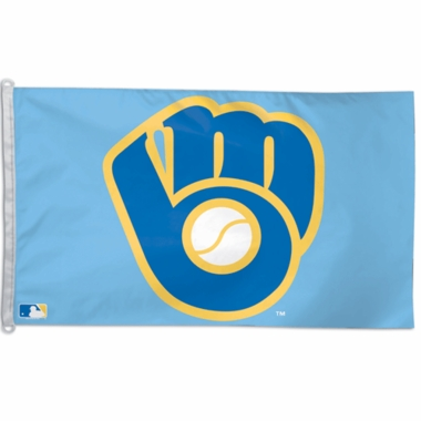 Milwaukee Brewers Big 3x5 Flag (Throwback)