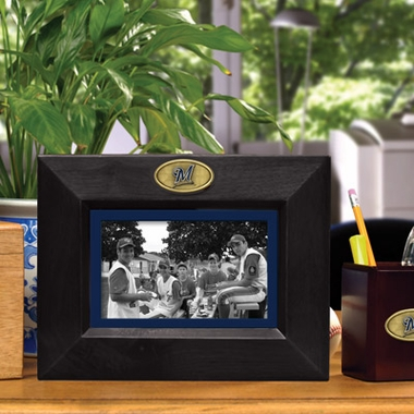 Milwaukee Brewers BLACK Landscape Picture Frame