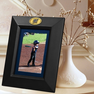Milwaukee Brewers BLACK Portrait Picture Frame