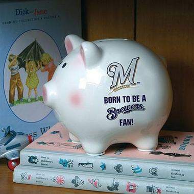 Milwaukee Brewers (Born to Be) Piggy Bank
