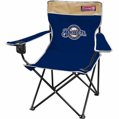 Milwaukee Brewers Broadband Quad Tailgate Chair