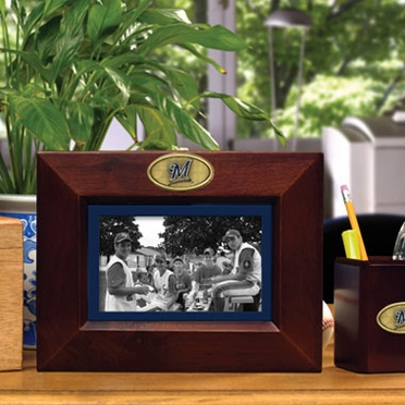 Milwaukee Brewers BROWN Landscape Picture Frame
