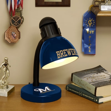 Milwaukee Brewers Dorm Lamp