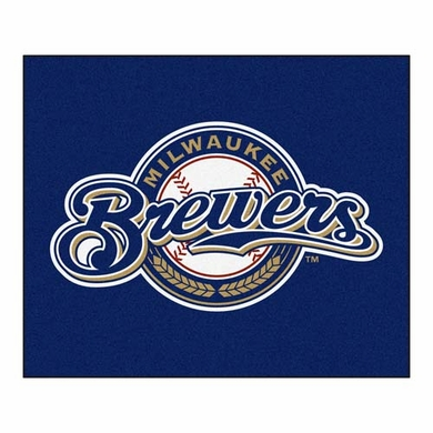 Milwaukee Brewers Economy 5 Foot x 6 Foot Mat