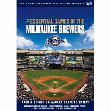 Milwaukee Brewers Essential Games of the Milwaukee Brewers DVD