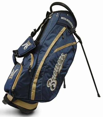 Milwaukee Brewers Fairway Stand Bag