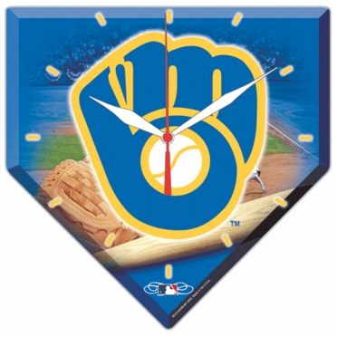 Milwaukee Brewers High Definition Wall Clock