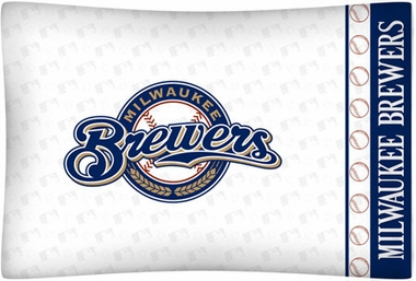 Milwaukee Brewers Individual Pillowcase