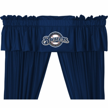 Milwaukee Brewers Logo Jersey Material Valence