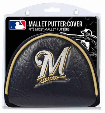 Milwaukee Brewers Mallet Putter Cover