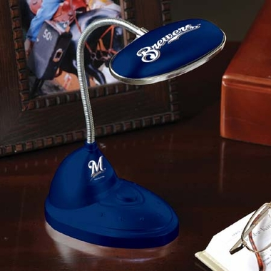 Milwaukee Brewers Mini LED Desk Lamp