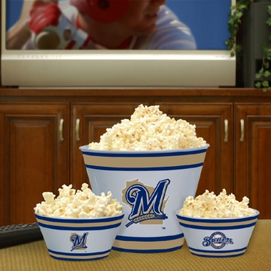 Milwaukee Brewers Plastic Serving Set