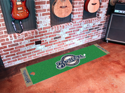 Milwaukee Brewers Putting Green Mat