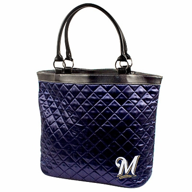 Milwaukee Brewers Quilted Tote