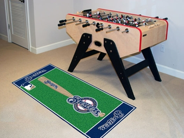Milwaukee Brewers Runner Rug