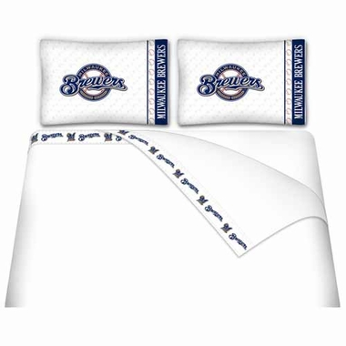 Milwaukee Brewers Sheet Set