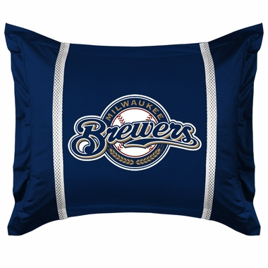 Milwaukee Brewers SIDELINES Pillow Sham