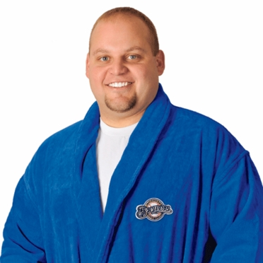 Milwaukee Brewers UNISEX Bath Robe (Team Color)