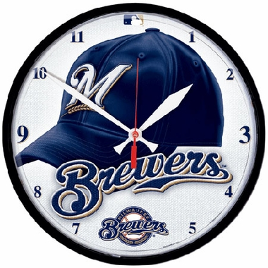 Milwaukee Brewers Wall Clock