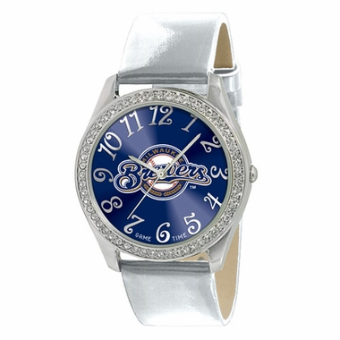 Milwaukee Brewers Women's Glitz Watch