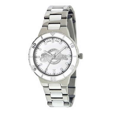 Milwaukee Brewers Women's Pearl Watch