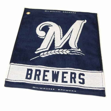 Milwaukee Brewers Woven Golf Towel