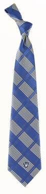 Milwaukee Brewers Woven Plaid Necktie