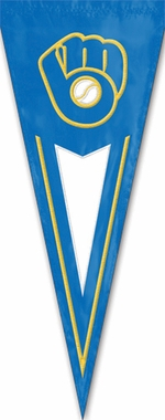 Milwaukee Brewers Yard Pennant (Cooperstown)
