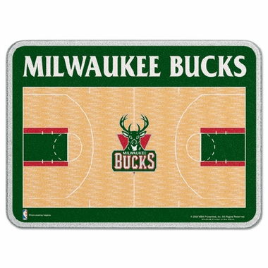 Milwaukee Bucks 11 x 15 Glass Cutting Board