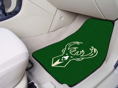 Milwaukee Bucks 2 Piece Car Mats