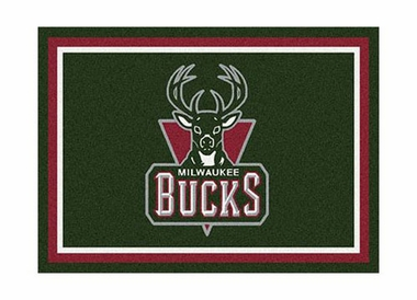 "Milwaukee Bucks 3'10"" x 5'4"" Premium Spirit Rug"