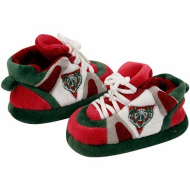 Milwaukee Bucks Baby Slippers