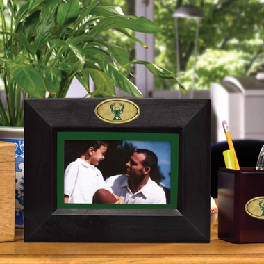 Milwaukee Bucks BLACK Landscape Picture Frame