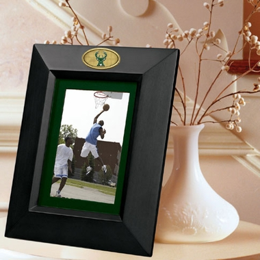 Milwaukee Bucks BLACK Portrait Picture Frame