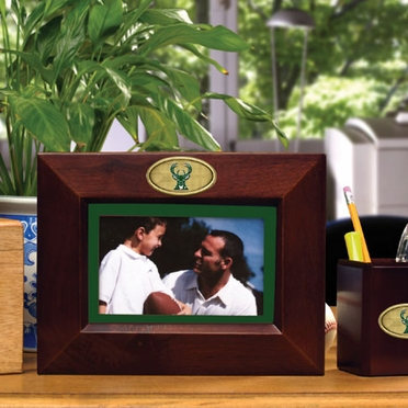Milwaukee Bucks BROWN Landscape Picture Frame