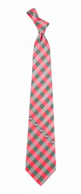 Milwaukee Bucks Check Poly Necktie