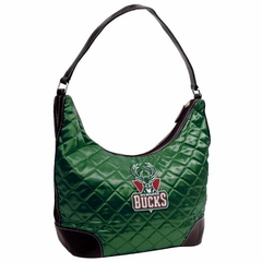 Milwaukee Bucks Quilted Hobo Purse