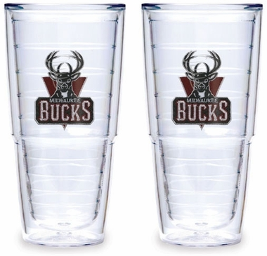 Milwaukee Bucks Set of TWO 24 oz. Tervis Tumblers