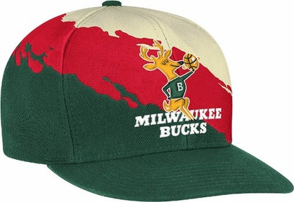 Milwaukee Bucks Vintage Paintbrush Snap Back Hat
